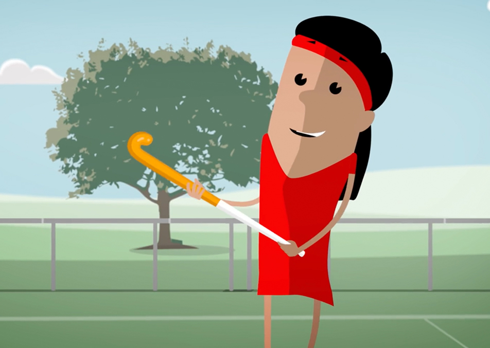 hockey-girl-red-animation